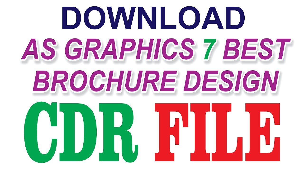 Coreldraw x7 tutorial how to download brochure design cdr file reheart Choice Image