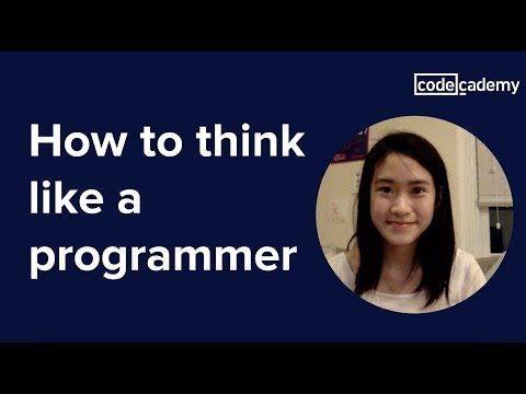How to Think Like a Programmer