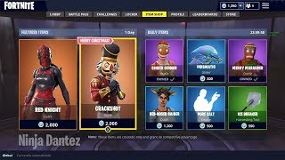 New ITEM SHOP COUNTDOWN | December 9th New Skins - Fortnite Item Shop Live