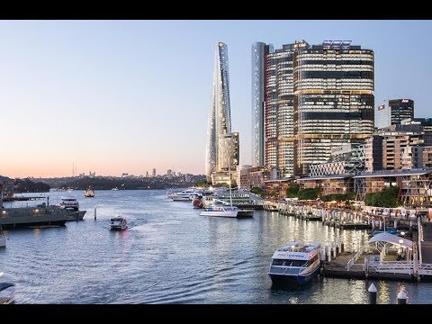 Fantastic Project Of 6 Star Hotel Crown Residences Of One Barangaroo In Sydney Australia