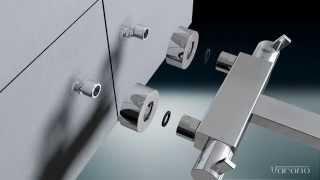 Hoe monteer je een thermostaat bad / douche kraan van Varono