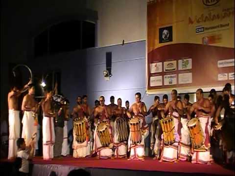 Panchari Melam Shri. Mattannur Shankarankutty Marar at Dubai