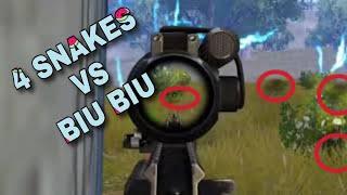BiuBiu Funny and 1vs4 moments//DRJ Gaming