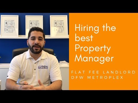 Dallas Property Management: How to find the best property manager for your rental property