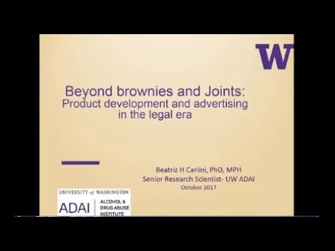 Beyond Brownies & Joints: Product Development and Advertising in the Legal Era