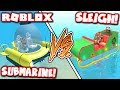 WHICH SHARKBITE SHIP IS BETTER: SUBMARINE vs SLEIGH!! (Roblox)