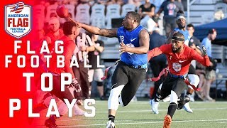 Flag Football Top Plays of the AFFL Quarterfinals | NFL