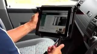Motexion ipad & laptop stand for cars