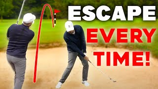 EASY way to es¢ape bunkers EVERY TIME - GUARANTEED