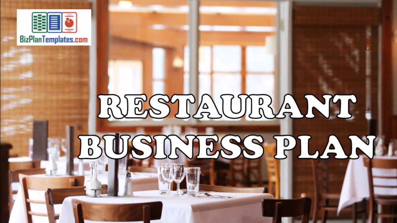 Restaurant Business Plan Template With Example And Sample Youtube