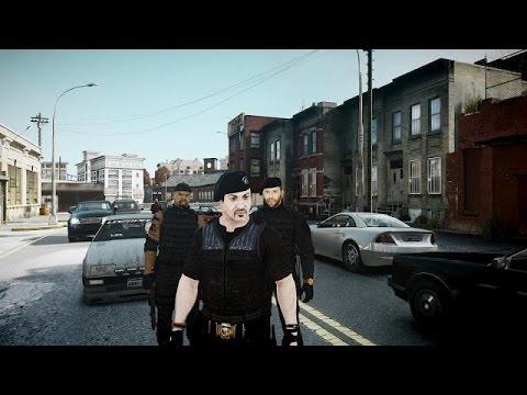 Grand Theft Auto 4 Multiplayer 3.Bölüm - Süper Takım w/Burak Oyunda - Uykulu Oyuncu...