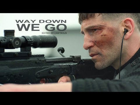 (The Punisher) Frank Castle & Billy Russo   ♫Way Down We Go (Logan trailer version)♫
