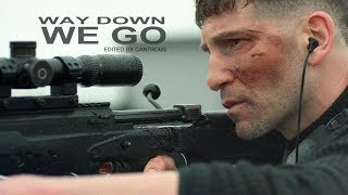 The Punisher Frank Castle Billy Russo Way Down We Go