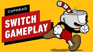 5 Minutes of Cuphead Gameplay on Nintendo Switch