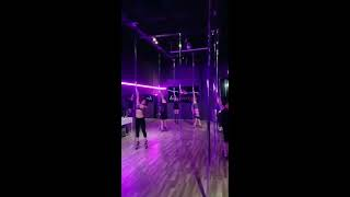 Pole dance choreography- brass vixens pole flow