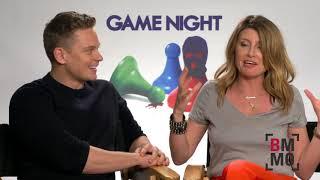 Billy Magnussen & Sharon Horgan Interview - Game Night
