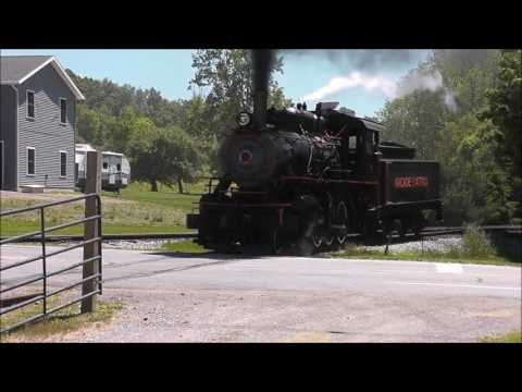 The Arcade And Attica Steam Excursion Train, Only Operating Steam Train In New York State!