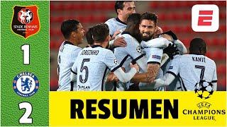 Rennes 1-2 Chelsea ¡Agónico! GOL de Giroud, los clasifica a octavos de final | Champions League