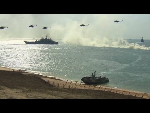 Russia conducts military drills in Crimea