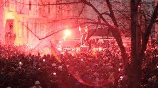 Ukraine. Штурм Адміністрації президента / Demonstrants attack presidential headquarter.