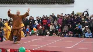 Shaolin Qigong Kung Fu Demo Chinese New Year Shifu Yuan-Shi Xing Wu 袁大師表演