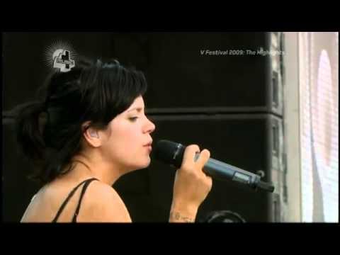 Lily Allen - Littlest Things - Live @ V Festival 2009