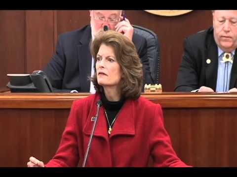 Senator Lisa Murkowski Annual Speech to Alaska State Legislature 2/23/12