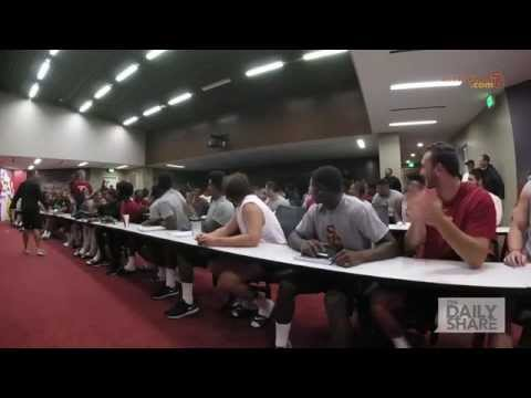 SURPRISE! USC football coach shocks walk-on players with INCREDIBLE news