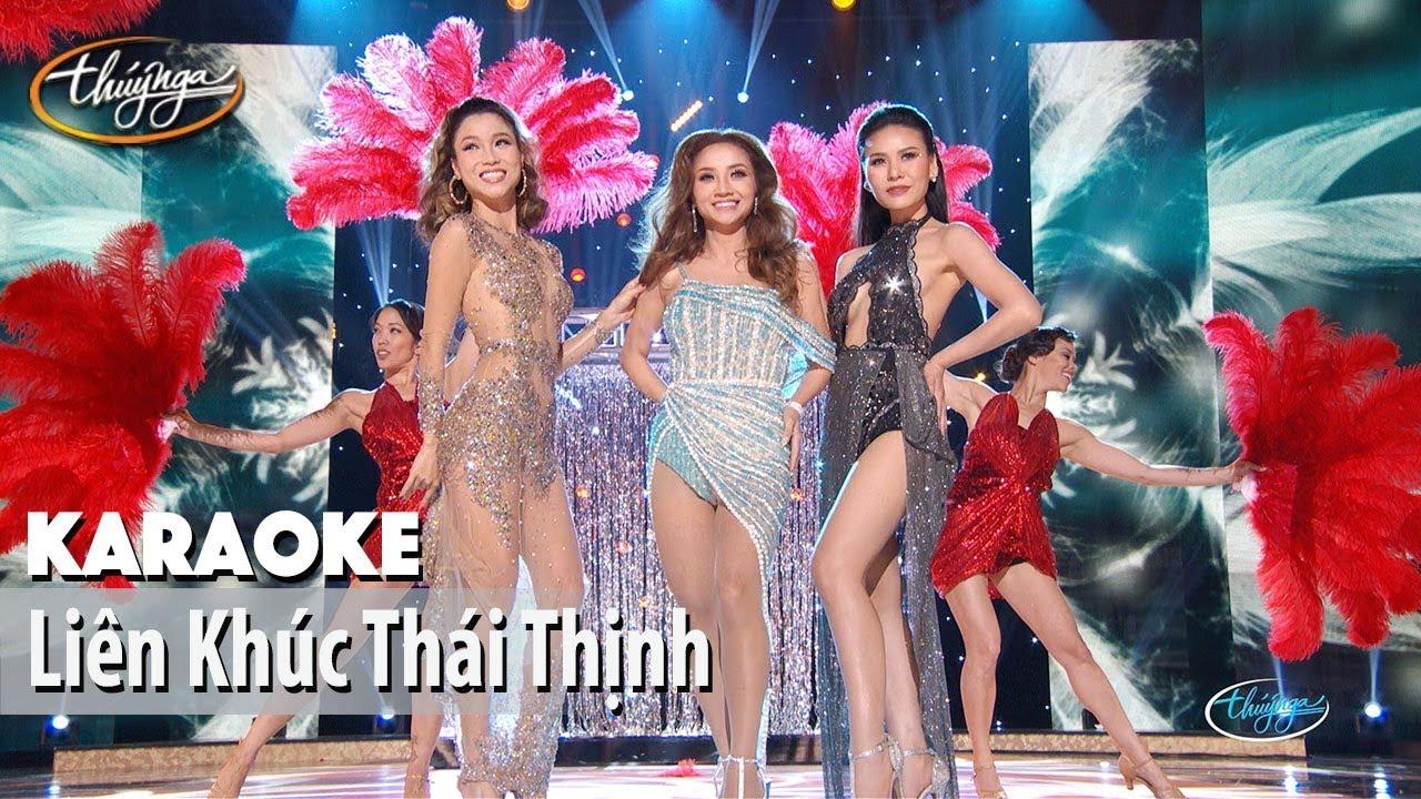 Karaoke | LK Thái Thịnh: Mỗi Khi Em Buồn & Người Quên Chốn Cũ (Diễm Sương, Kỳ Phương Uyên, Quỳnh Vi)