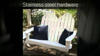 Little Cottage Co. Classic Adirondack 4ft. Recycled Plastic