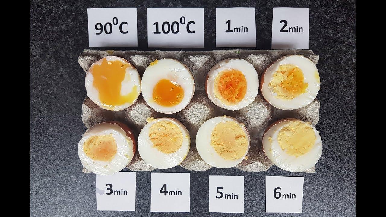 Test Jajek 02 Zimne Jajka Do Zimnej Wody Gotujemy Od 1 Do 6 Minut