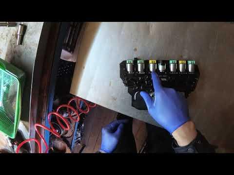 Проверка акпп 6T30 6T40 на наличие стружки. Ремонт диагностика.