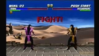 Mortal Kombat Trilogy Rain Arcade Ladder