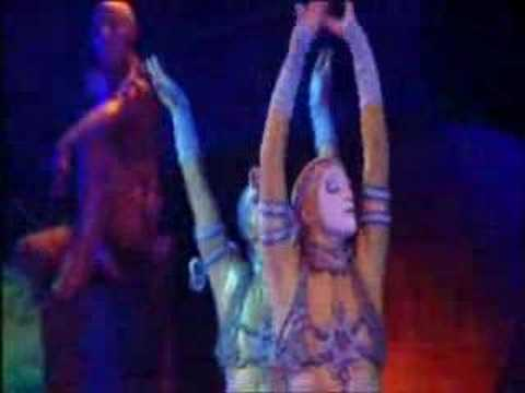 Cirque du Soleil Alegria, Powertrack
