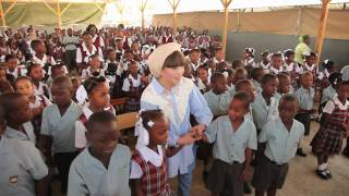 7 April 2011: UNICEF's Michelle Marrion reports on UNICEF Goodwill ...