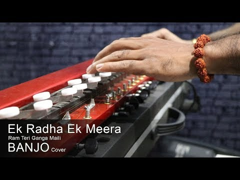 Ek Radha Ek Meera Banjo cover | Bollywood Instrumental - BHAJAN | by music retouch