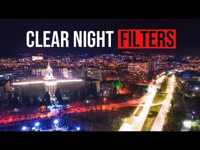 CLEAR NIGHT Filters for DJI Mavic 2 Pro/DJI Osmo Pocket!
