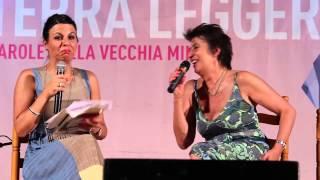 Geppi cucciari intervista serena dandini durante il festival argentiera 2013