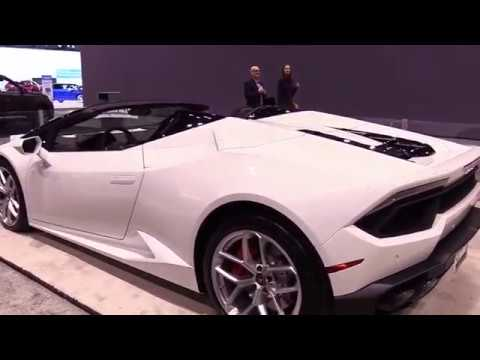 2017 Lamborghini Huracan Spyder White Limited Luxury Features