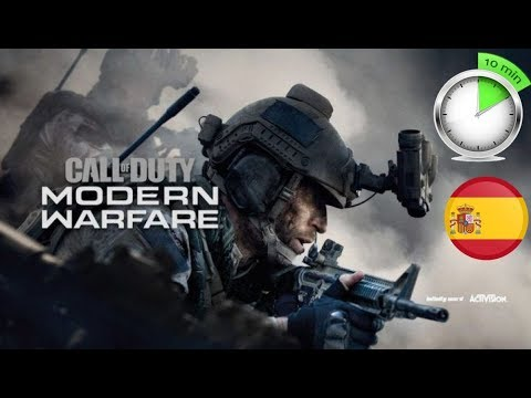 Call of duty MODERN WARFARE  10 MINUTOS DE GAMEPLAY VIDEO REACCION