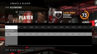 HOW TO ASSIGN A CREATED PLAYER TO A TEAM IN NBA 2K20!