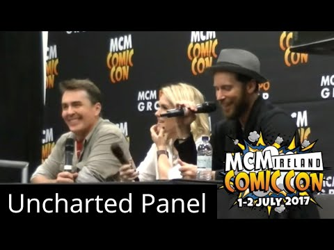 Uncharted Panel | MCM Comic Con @ RDS Arena, Dublin, Ireland | 1st July 2017