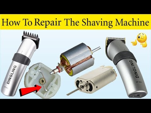 How To Repair The Shaving Machine / DIY