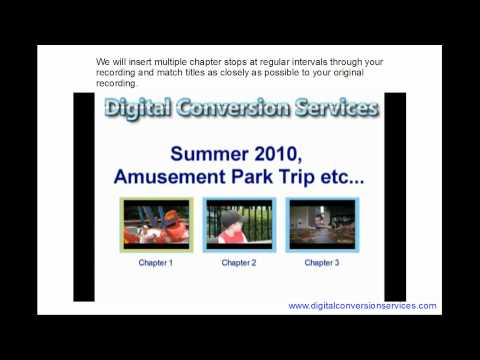 VHS to DVD Conversion Service Overview Video.wmv