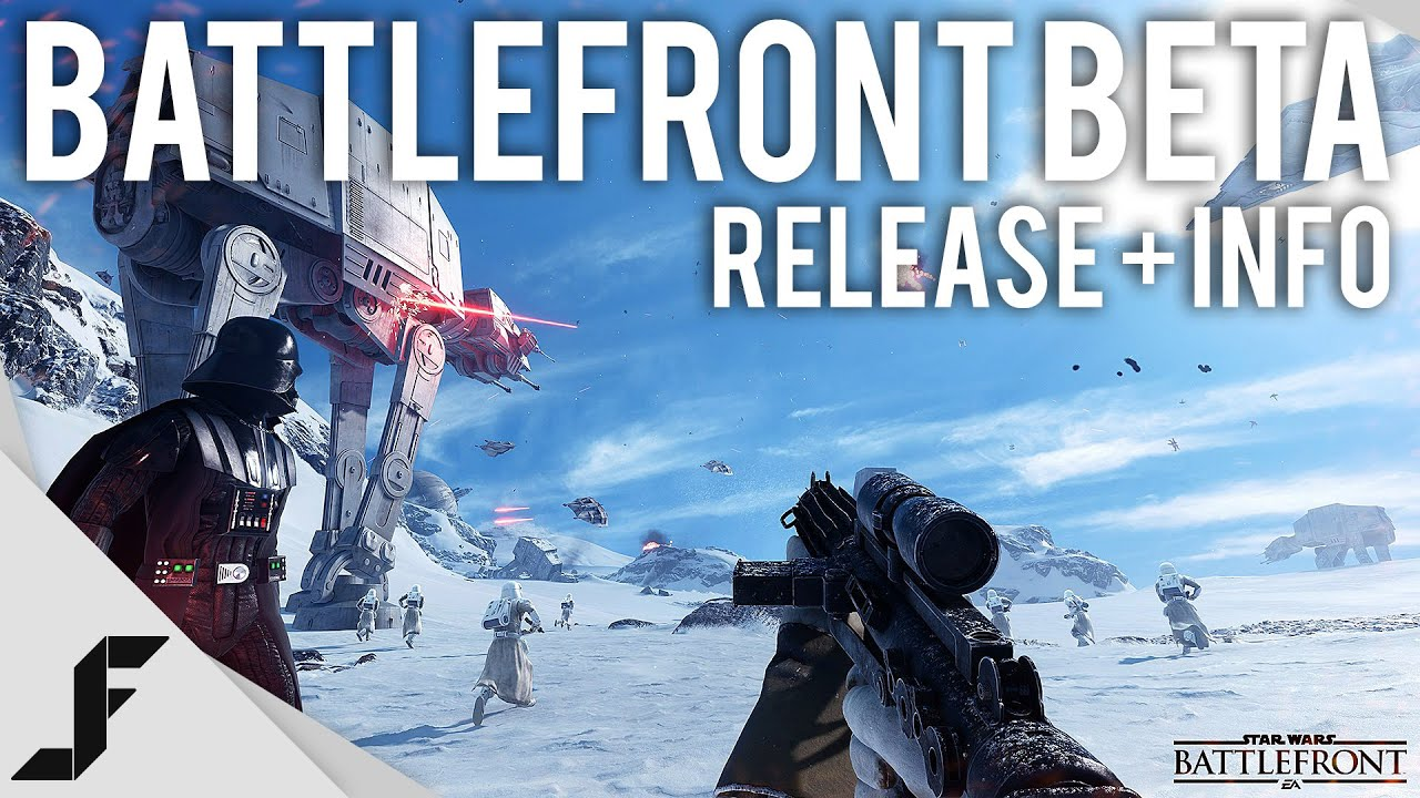Star Wars Battlefront Beta Release Date + Info! - YouTube