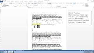 Word 2013, 2010: Anfängerkurs - Word lernen Tutorial [Teil 1, HD, Deutsch, German]