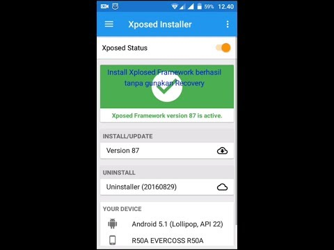 Cara Instal Xposed Installer Android Lollipop Amp Marshma