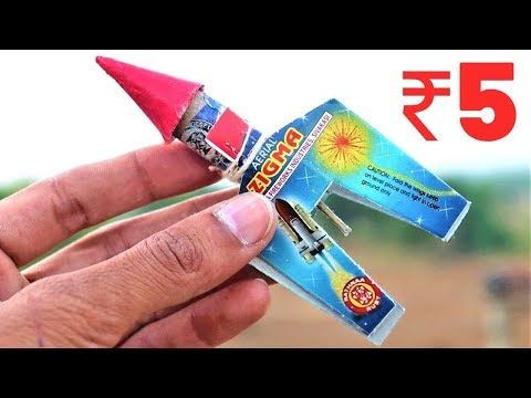 What Is Inside This Diwali Rocket With Stabilizers?