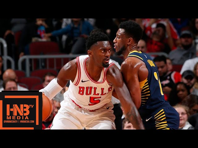 Indiana Pacers vs Chicago Bulls Full Game Highlights | 10.10.2018, NBA Preseason