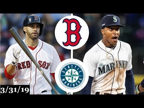 Boston Red Sox vs Seattle Mariners Highlights | March 31, 2019
